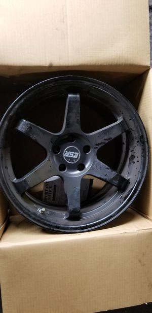 ESR SR07 Wheels no tires 5*114 for Sale in New York, NY