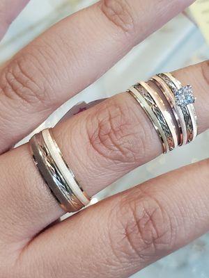 14k Wedding 💒 rings for Sale in Marietta, GA