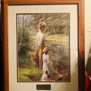 !!!Beautiful Antique Painting With Scripture!!! for Sale in Reedley, CA