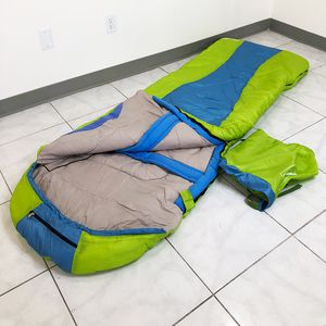 Brand New $15 Camping Sleeping Bag Waterproof Indoor & Outdoor Hiking Lightweight w/ Portable Bag for Sale in Montebello, CA