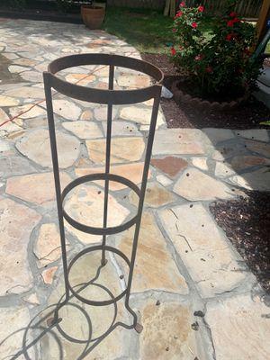 Metal (2) plants holders for Sale in San Antonio, TX