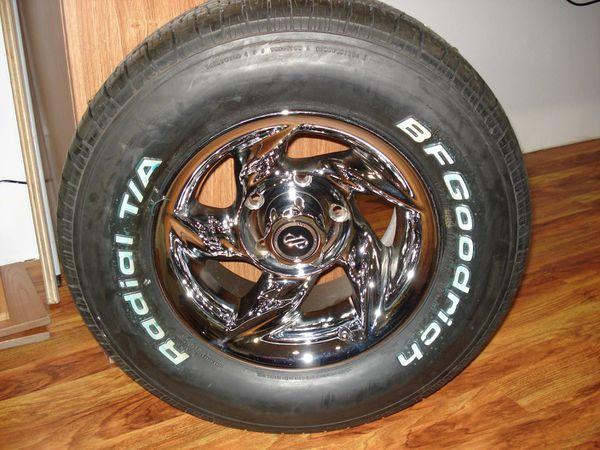 BF Goodrich radial. TA for sale
