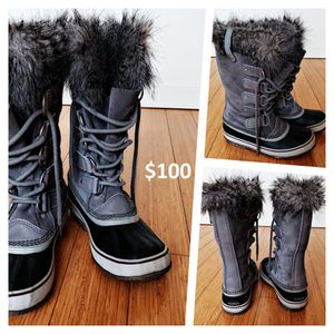 Grey winter boots! Sorel Joan of Arctic for Sale in New York, NY