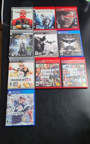 PS3&PS4 Games for Sale in Chicago, IL