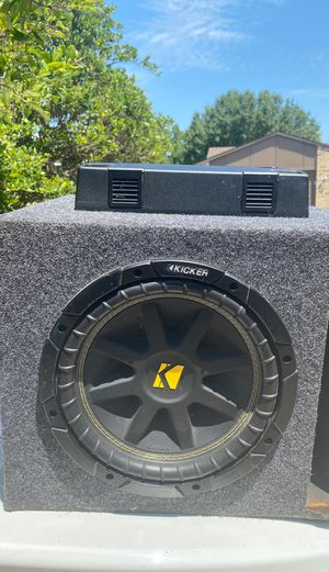 Kenwood Subwoofer KAC-8105D for Sale in Plano, TX