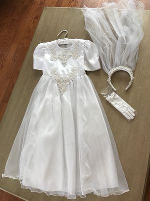 Girls Communion Flower Girl Dress for Sale in Tampa, FL