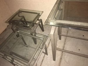 Bar and two end tables for Sale in Las Vegas, NV