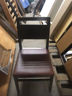 Restaurant chairs $10 each over than 500 chairs serious buyer for Sale in Southington, CT