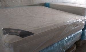 Pillow top king mattress and box spring brand new free delivery same day for Sale in Miramar, FL