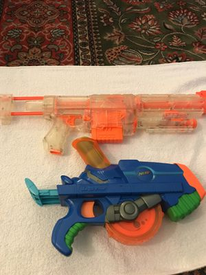 2 large Nerf guns for Sale in New York, NY