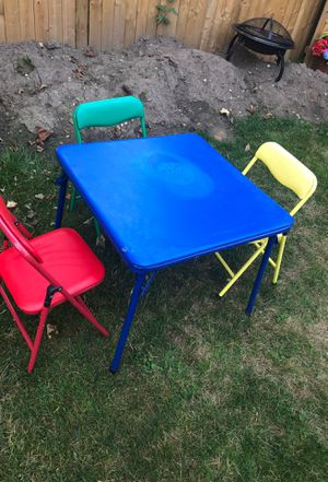 Kids table with chairs for Sale in Buffalo, NY