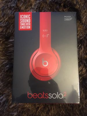 Apple Beats Wired Solo 2 Red headphones by Dr. Dre New for Sale in Woodbridge, VA