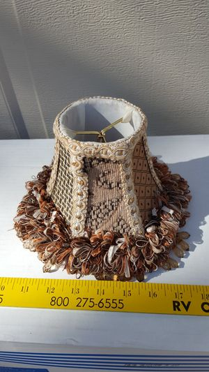 Frilly small lamp shade for Sale in Austin, TX