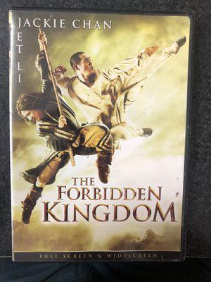 The Forbidden Kingdom DVD for Sale in Preston, CT