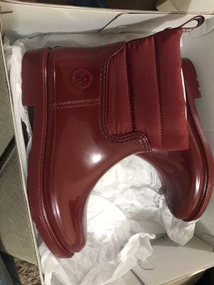 Rain boots, Michael kors, size 7W for Sale in Tijuana, MX