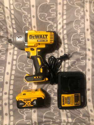 DeWALT wrench drill 20v/60v for Sale in Berkeley, CA