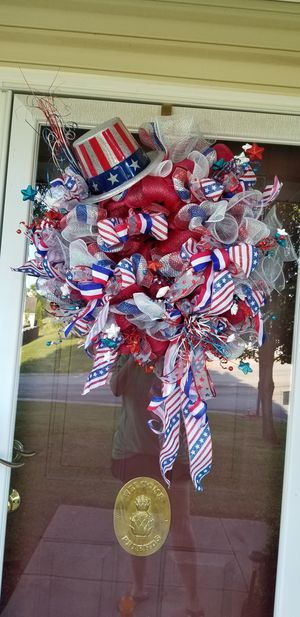 Memorial Day/4th of July/Flag Day/Veterans Day Wreath for Sale in Kernersville, NC