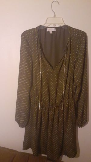 Michael KORS Sable Tiered Dress Size 6 for Sale in Milwaukee, WI