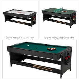 3in1 Pool, Air Hockey, & Ping Pong Table for Sale in Chicago, IL