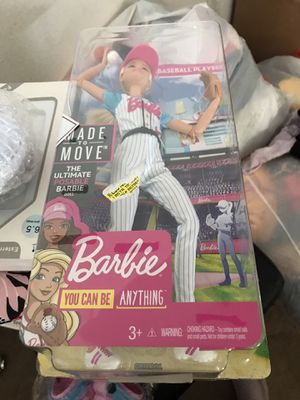 Baseball Barbie for Sale in Auburndale, FL
