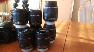 Nikon Lenses fits all Nikon Cameras for Sale in Williamstown, NJ