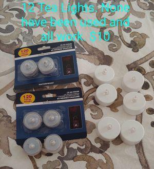 Tea lights for Sale in Warren Air Force Base, WY