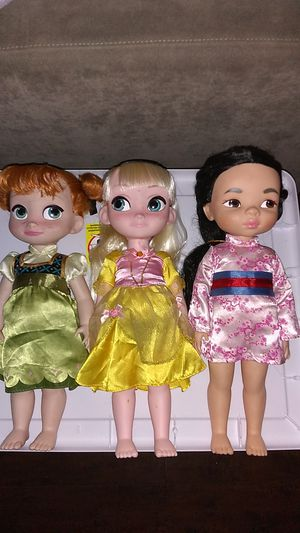 Disney Animators Collection Doll Bundle $15 For All for Sale in Costa Mesa, CA