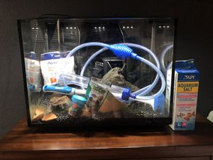10G Tank with accessories for Sale in The Colony, TX