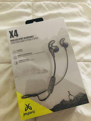 Jaybird X4 wireless sport headphones for Sale in Pasadena, TX