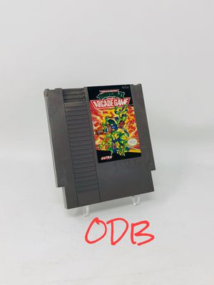 Teenage Mutant Ninja Turtles TMNT Arcade Game - Nintendo NES for Sale in Parkville, MO