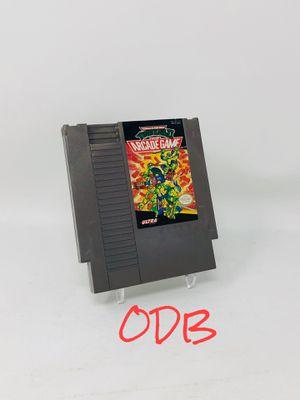 Teenage Mutant Ninja Turtles TMNT Arcade Game - Nintendo NES for Sale in Parkville, MO