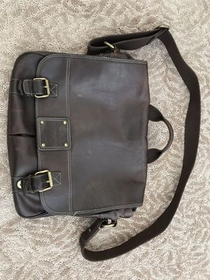 Authentic Leather Fossil Messenger Bag for Sale in Arvada, CO