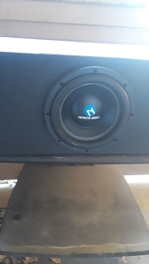 Nemesis 10 in d4 subwoofer for Sale in Dallas, TX