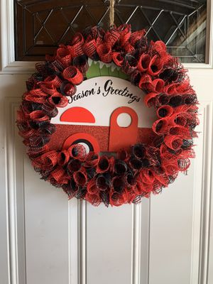 Christmas camper wreath for Sale in Easley, SC