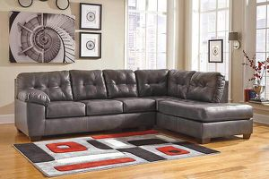 Brand new ashley durablend leather sectional on sale today!!! for Sale in Columbus, OH