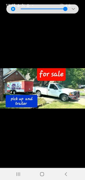 4.600 truck and enclosed trailer for Sale in Cypress, TX