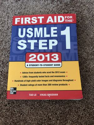 1st Aid for Step 1 for Sale in Charleston, WV