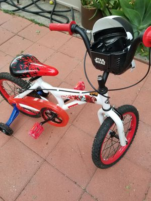 Kids bicycle with training wheels. for Sale in Laguna Woods, CA