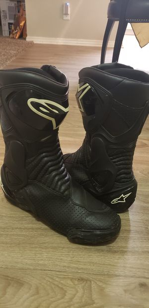 Alpinestars leather boots size 12 for Sale in Rowland Heights, CA