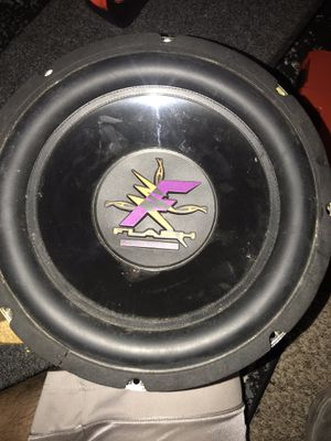 """Two 12"""" Cadence Flash 12-2 Subwoofers for Sale in CORP CHRISTI, TX"""