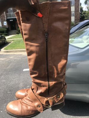 Tan ALDO riding boots for Sale in Baltimore, MD