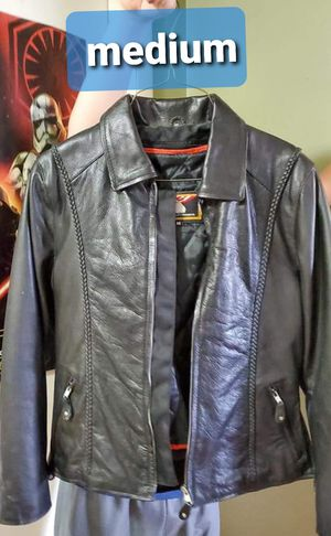 Motorcycle boots, jacket, and helmet for Sale in England, AR