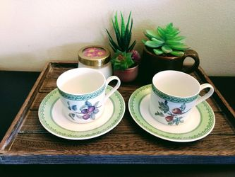 Winterthur adaptations fruit teacup with saucer (Pick up🛒 In Bellevue) *Check Out My Other Posts 🤹 for Sale in Bellevue,  WA