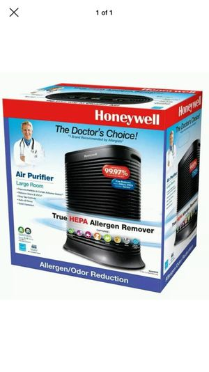 Honeywell HEPA Large Room Allergen Remover Air Purifier for Sale in Marietta, GA