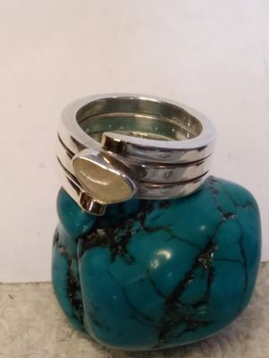 LILLY BARRACK 14k 925 artist size 8 ring for Sale in Willow Street, PA