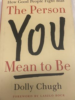 """""""The Person You Mean To Be"""" Book for Sale in Braintree,  MA"""