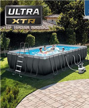 """Intex Ultra XTR Pool 24 ft x 12 ft x 52"""" for Sale in Pittsburgh, PA"""