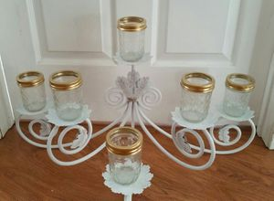 Farmhouse candle centerpiece for Sale in Grand Prairie, TX