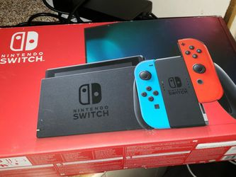 Nintendo Switch Console 9 Games 3 Physical Games 2 Pro Controllers Case for Sale in St. Petersburg,  FL