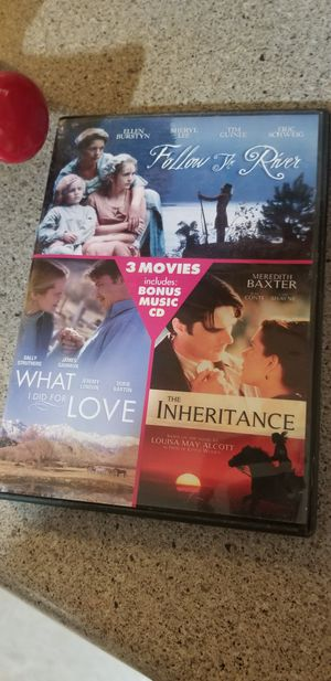 3 movies in one. 1 music relaxing CD for Sale in Appleton, WI